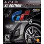 Gran Turismo 5 Xl Edition Ps3 Físico Nuevo Y Sellado