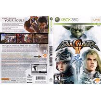 Xbox 360 - Soul Calibur Iv - Míd Fís - Original - Semi