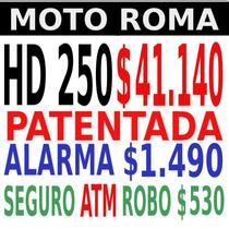 Mondial Hd 250 18 Cuotas Solo Con D.n.i 5263-7662