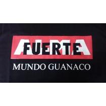 Remeras Almafuerte Mundo Guanaco