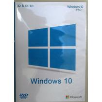 Cd Para Formatação / Instalação Wind©ws 10 Pro 32/64-bit