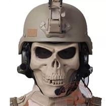 Careta Tactica De Gotcha Militar Mercenario Calavera D1004
