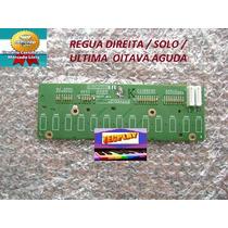 Regua Lado Agudo Teclado Technics Kn1600 Kn1400 Kn920 Etc
