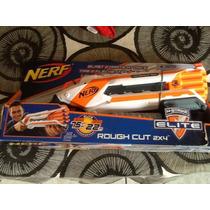 Pistola Nerf Rough Cut 2x4