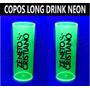 100 Copos Long Drink Neon Personalizados Festa Casamento