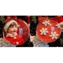10 Bolas De Natal Personalizada Para Foto Ou Personalização
