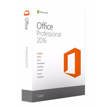 Office Professional 2016 Para Windows - 269-16805 S/chave