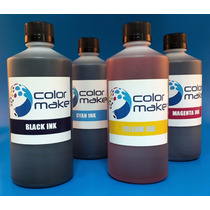 Tinta Color Make Hd Epson 500cc Para Cartuchos Y Sistemas