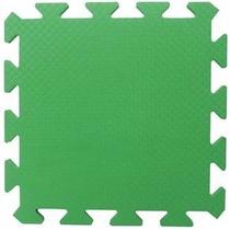 Tapete Eva Verde Bandeira 50x50x1cm 10mm
