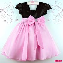 Vestido Infantil Casamento Formatura Princesa Várias Cores