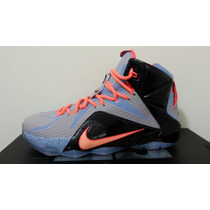 Tenis Nike Lebron James 12 27 Cm 7 Mx Nuevo 100% Original