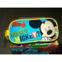 Cartucheras Originales Mickey Mouse, Thomas, Doky Ovalada