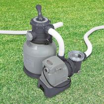 Bomba Filtro Intex Sistema Areia Krystal Clear 110v #28645