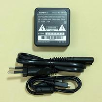 Kit Carregador Sony Original P/ Dsc-hx9v Dsc-wx7 Dsc-wx9