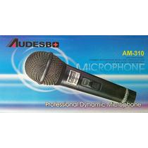 Micrófono Profesional Alámbrico Audesbo Modelo Am-310 Sop46