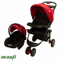 Babynet Cochecito Avanti Jogger 3 Ruedas Y Huevito ( Macco )