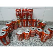 19 Latas Vacias Coca Cola, Increíble Colección