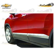 Molduras Inferiores Puertas Chevrolet Trax Originales