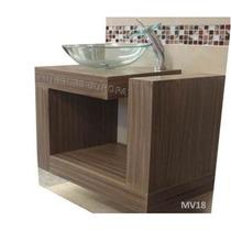 Ovalin Mueble Gabinete De Baño Suspendido