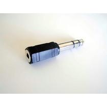 Plug Adaptador P10 Stereo ( Converte Saída P10 Em Saída P2 )