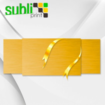 Lamina Placa Oro Para Sublimacion Sublimar 40x60 Colormake