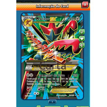 Pokemon Tcg Online - Mega Scizor Ex Full Art - Carta Virtual