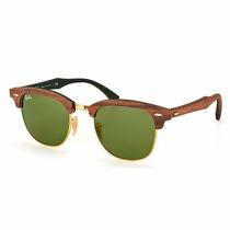 Óculos De Sol Rayban Clubmaster Rb3016-m 1182/4e