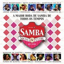 Cd Samba Social Clube Vol. 5 Ao Vivo - Lacrado
