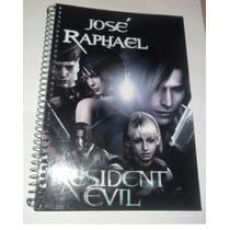 Cadernos Personalizados Resident Evil De 1 Matéria