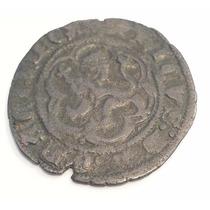 Antigua Moneda España Spain Maravedies 1390 1406 B Enrique 3