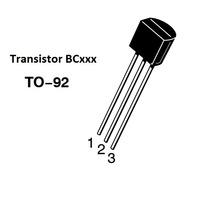 20x Transistor To-92 - Bc548, Bc549, Bc550, B556, Bc558