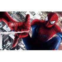 Painel Decorativo Festa Homem Aranha Spider 1x1,5m - (ho02)