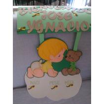Cartel Bienvenido Para La Clinica Nacimiento Del Bebe Foami