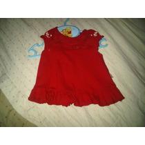 Vestido De Nena Rojo De Mimo Hermoso Para Bebé De 1 A 3