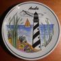 Plato En Porcelana Souvenir De Aruba