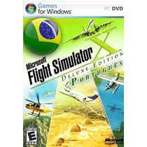 Flight Simulator X + Acceleration Em Português Para Pc E Not