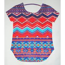 Blusa Tejida Multicolor. (20% Descuento X Marzo)