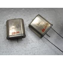 Lote Com 2 Cristal Oscilador 2.560mhz - Transmissor Fm Mta
