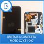 Pantalla Completa Moto X2 Instalada. Myphonexpress