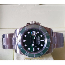 Relógio Máq Eta 3135 Submariner Dial Verde Noob Best Edition