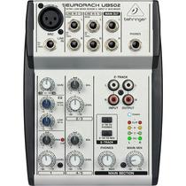 Mesa De Som Behringer Ub 502 Com Phanton Power Beringer