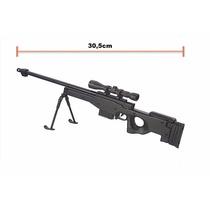 Miniaturas Die Cast 1:6 Armas - L96 Black - Airsoft