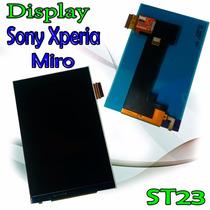 Display Sony Xperia Miro St23 Excelente Calidad Nuevo