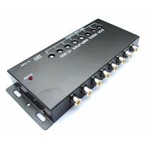 Amplificador De Video De 1 A 8 Canales Rca A 12v Video Boost