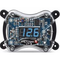 Voltímetro Digital - Vt3 Som Automotivo Veicular
