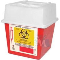 Bote Rojo Residuos Punzocortantes Biológicos Infeccioso Rpbi