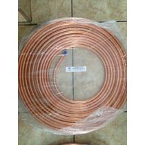 Rollos De Tubería Cobre De 1/2 Y 1/4 Para Minisplit De 1 Ton