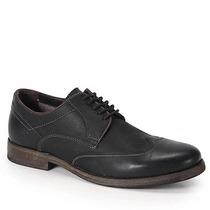 Sapato Casual Masculino Democrata Dart - Preto