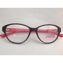 Armação Para Óculos Coca Cola Feminina Cc3 3859