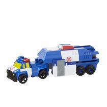 Transformers Rescue Bots - Chase Vira Caminhao Da Policia